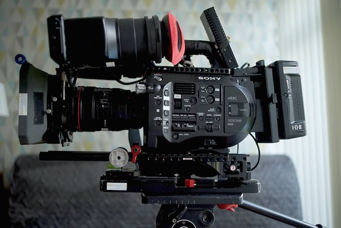 Sony FS7 with Zacuto Baseplate