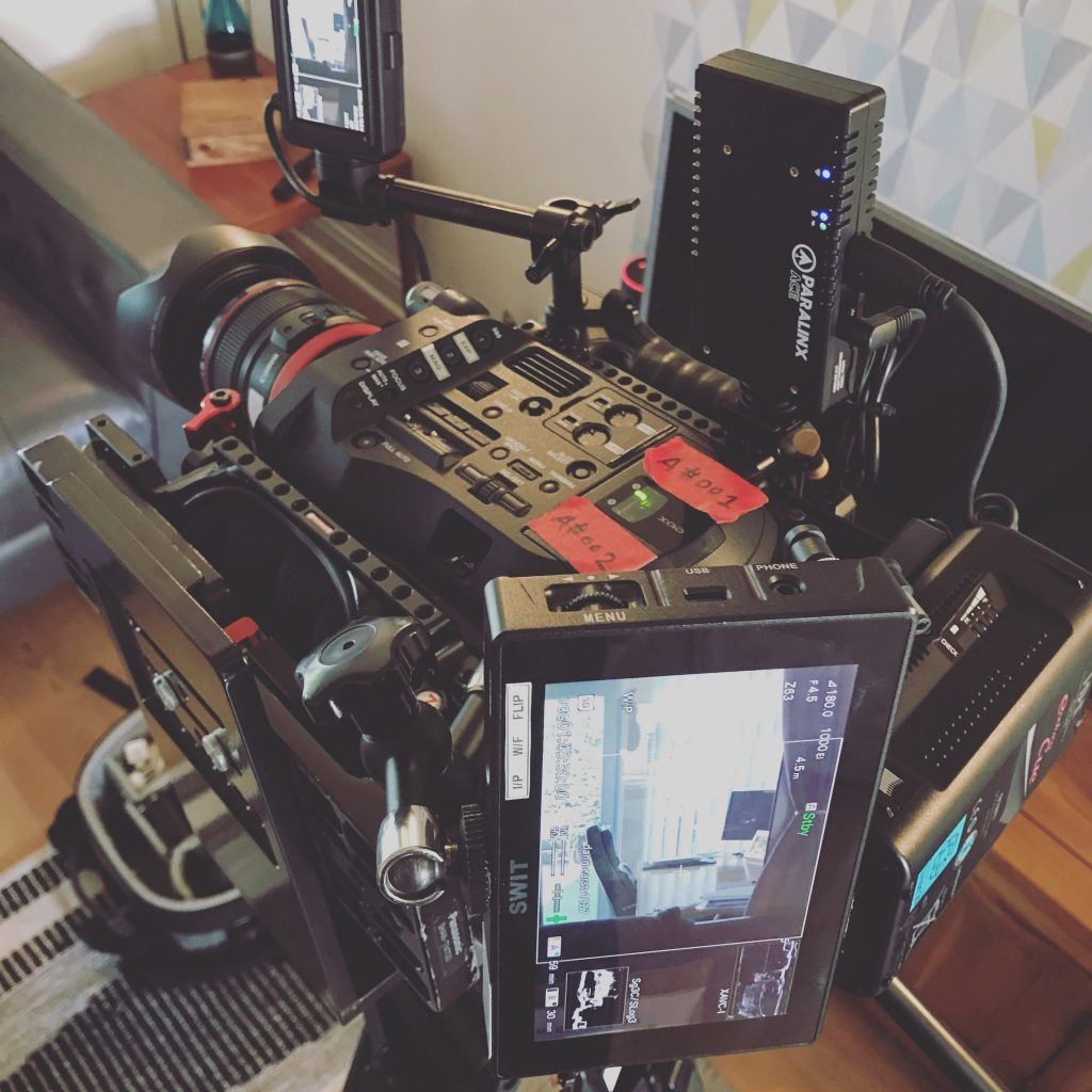 Sony FS7 Rigged for Shooting 9:16 Content
