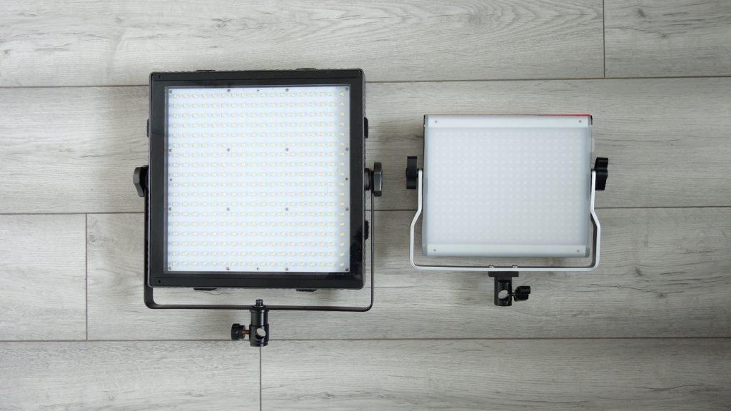 Neewer RGB660 compared to Tecpro Felloni 1x1 Panel